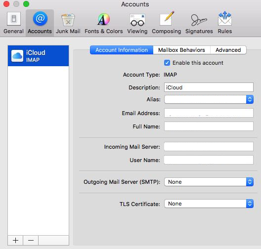 How To Configure Mac Mail Client For Sending And Receiving Email