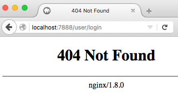 404 drupal page not found mamp with nginx